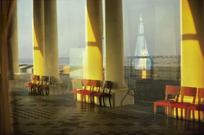Harry Gruyaert Belgium. Town of Ostende. Thermal palace. 1988.