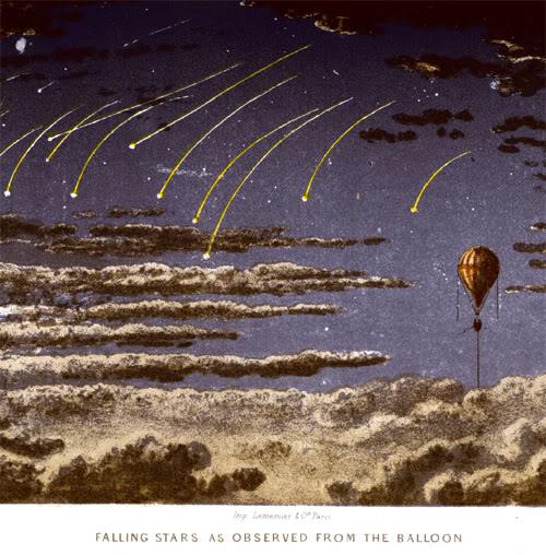 James Glaisher, voyage dans les airs, 1871