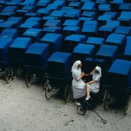 Lourdes, crématorium des poussettes