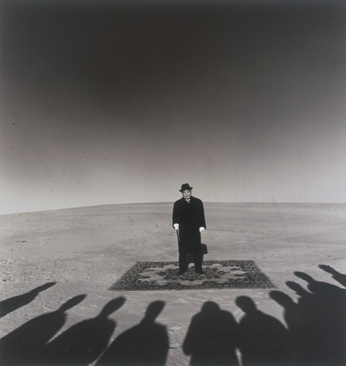 Shoji Ueda, Dunes, Portrait of Mr. Sohji Yamakawa
