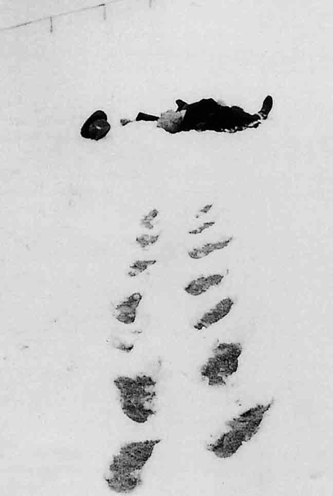 Robert Walser, 25 décembre 1956