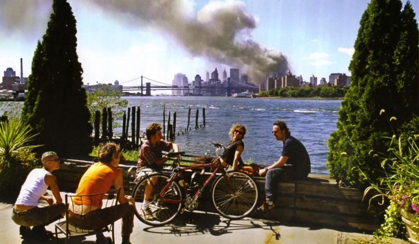 Thomas Hoepker, Williamsburg, Brooklyn, 11 Septembre 2001