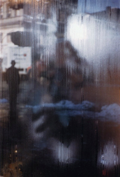 Scène de rue , Saul Leiter, 1959