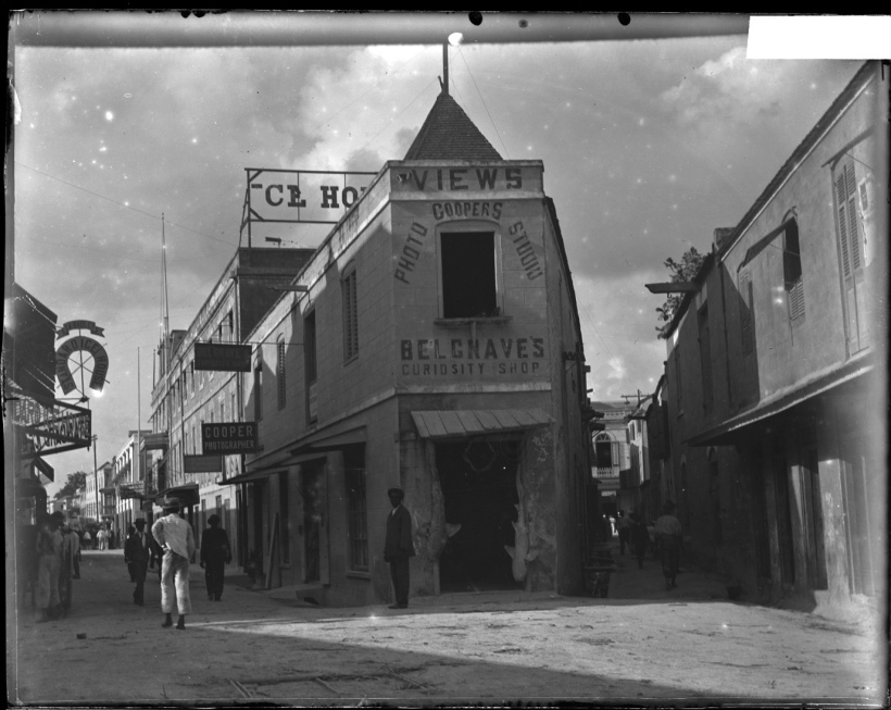 Charles W. Blackburne, [Photo Studio de Cooper et Curiosity Shop de Belgrave, Bridgetown, Barbade