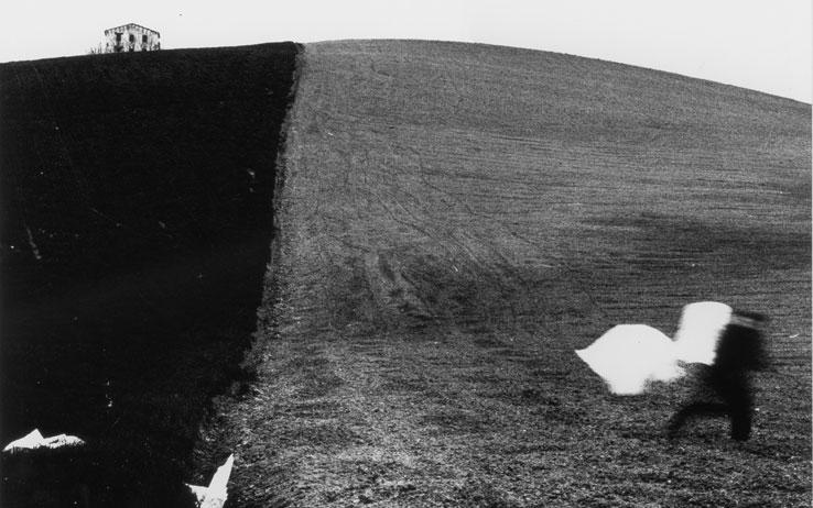 Da Presa di coscienza sulla natura (1977-2000) Campagna marchigiana © Archivio Mario Giacomelli, Senigallia