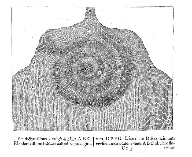 L'origine souterraine des tornades de Mundus subterraneus (1665 ed.) Vol. 1, p. 205