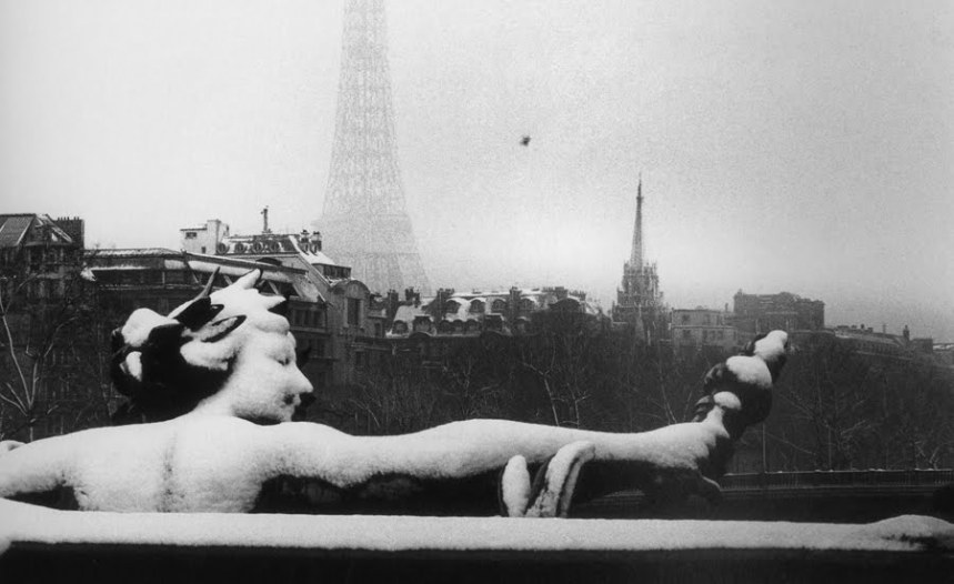 Bruce Davidson, Hiver à Paris, 1962. 21 février