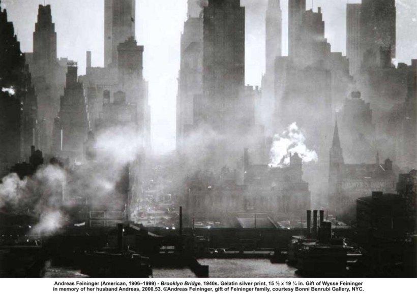 Andrea Feininger - Brooklyn Bridge, 1940