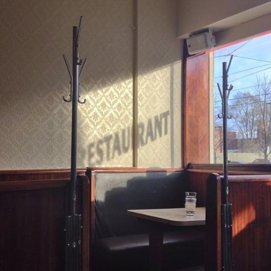 au restaurant Lakeview