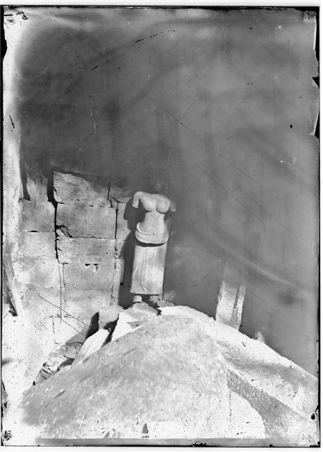 musée Guimet - Divinité féminine, 1873 ou 1881. Angkor Vat (12e siècle) Louis Delaporte Marie Joseph (1842-1925)