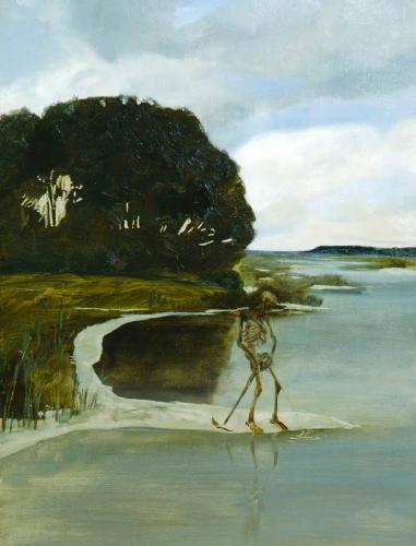 Max Klinger (Detail) la mort qui pisse, 1880