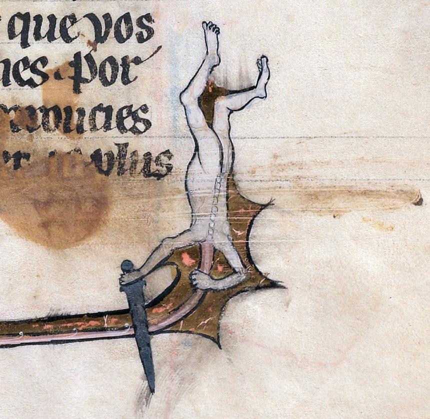 Le livre de Lancelot du Lac and other Arthurian Romances, Northern France 13th century Beinecke Rare Book & Manuscript Library, MS 229, fol. 295r