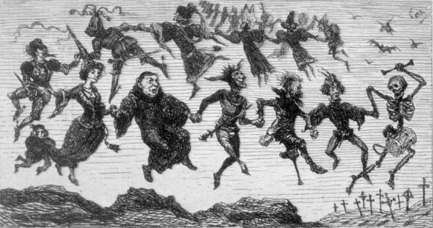 Leonie Petit, Dance of Death, 19th century