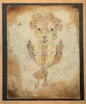 Paul Klee, Angelus Novus, 1920, collection du Musée d'Israël, Jerusalem