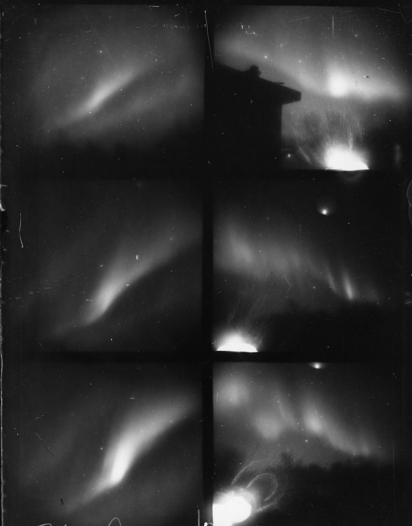Carl Størmer,  Northern Lights 1910