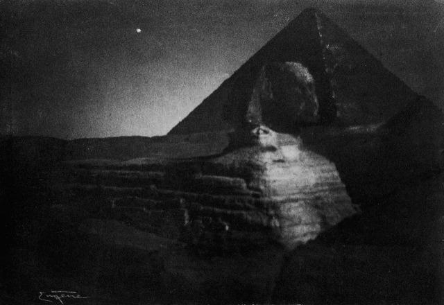 frank-eugene-le-sphinx-de-gizeh-a-minuit-egypte
