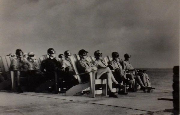VIPs civils, Opération Greenhouse, Îles Marshall, 7 avril 1951