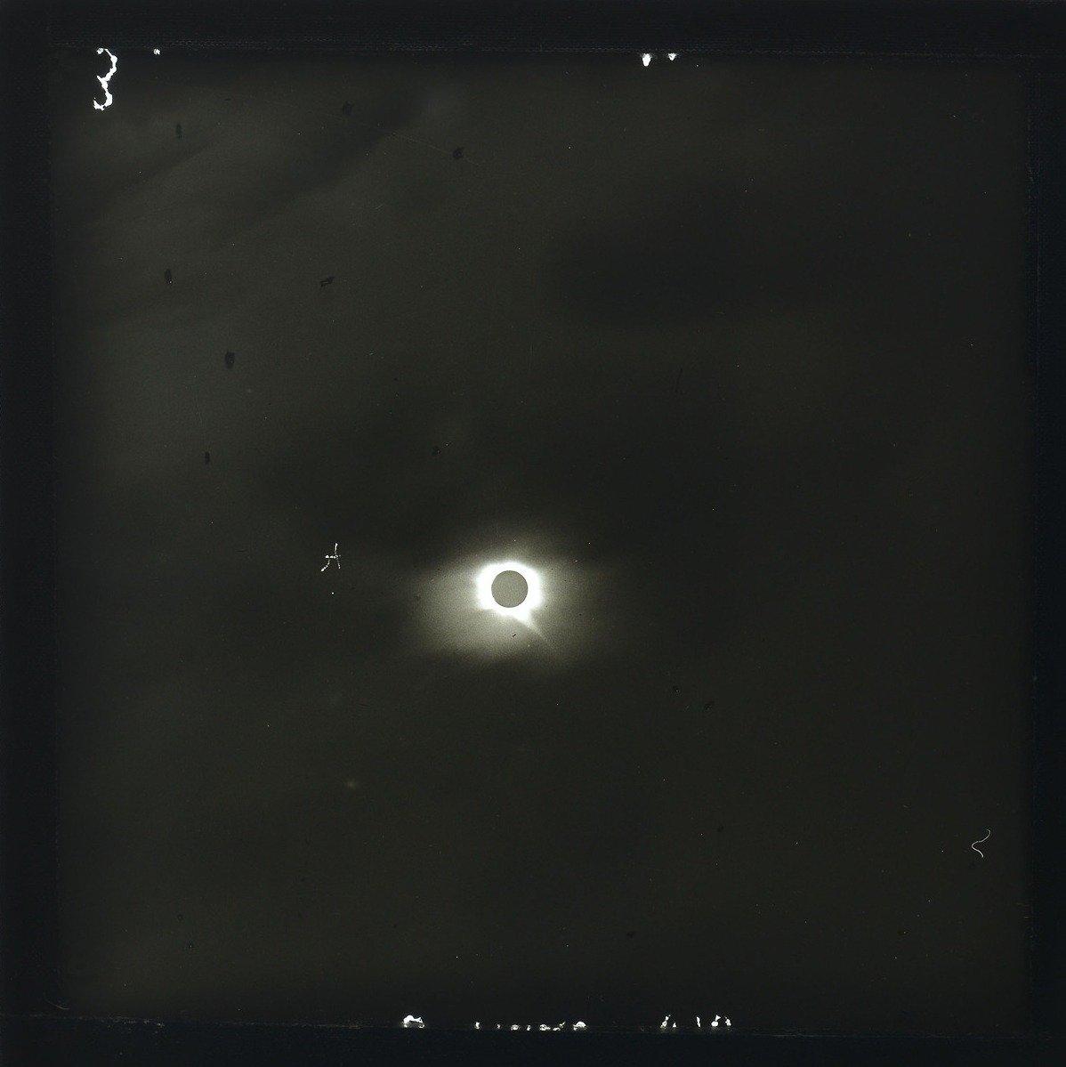 Éclipse solaire, Japon 1887